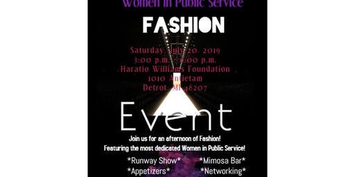 Women In Public Service  Charity Fashion Event