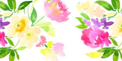 Watercolor Floral - Basics