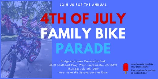 Fourth of July Family Bike Parade