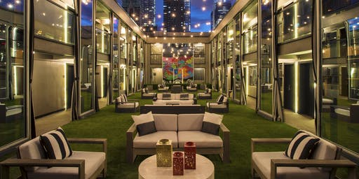 GRAND OPENING -SKYDECK TERRACE- Happy Hour @ CACHET Hotel - Music, Frosé, Cocktails & SKY VIEWS!