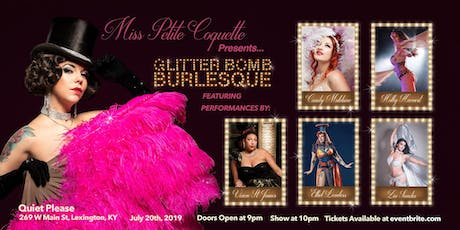 Glitter Bomb Burlesque tickets