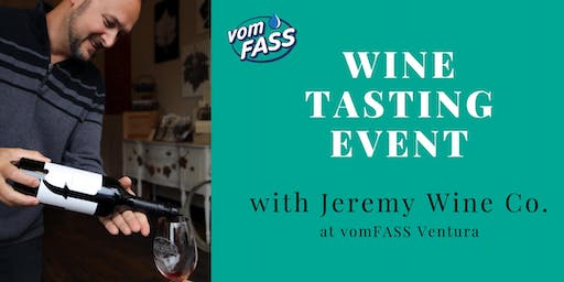 Wine Tasting Event w/ Jeremy Wine Co.