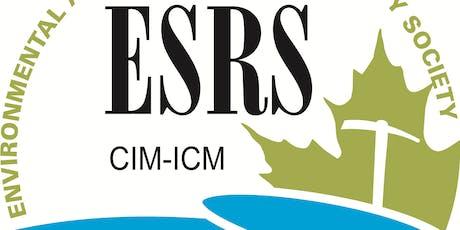 ESRS Quarterly Update Meeting (December 2019) tickets