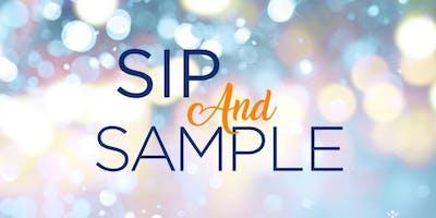 Sip & Sample Poolside Gathering