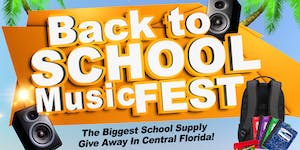 Back To School Music Fest