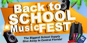 Back To School Music Fest