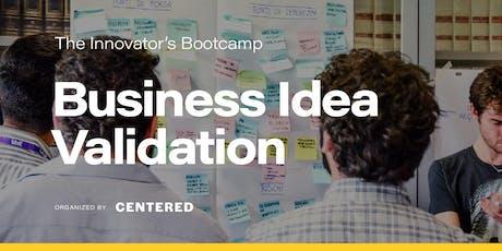 Business Idea Validation: crea, misura e impara | BOOTCAMP biglietti