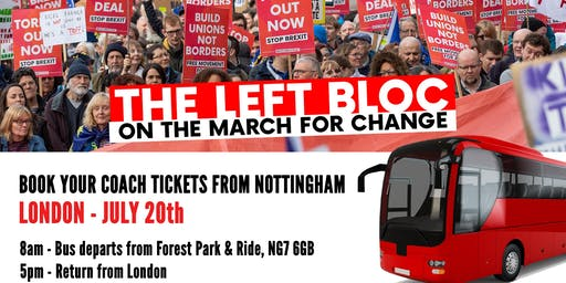 July 20 Coaches to Left Bloc March against Brexit
