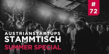 AustrianStartups Stammtisch #72: Summer Special Tickets
