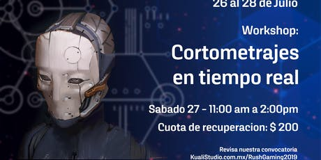 Workshop Cortometrajes en tiempo real entradas