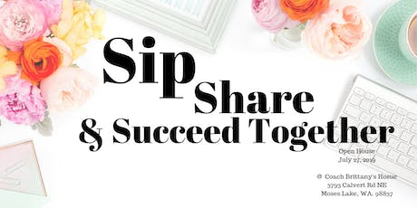 Sip, Share and Succeed TOGETHER tickets
