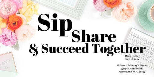 Sip, Share and Succeed TOGETHER
