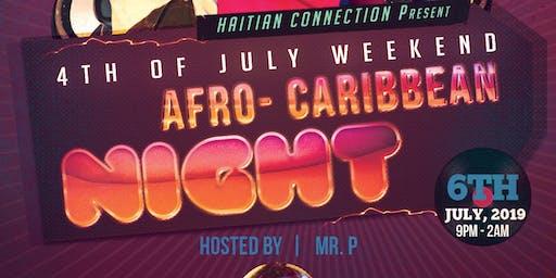 AFRO - CARIBBEAN NIGHT