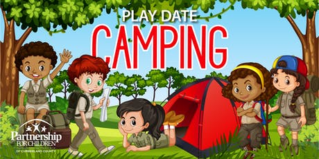 Camping themed Play Date tickets