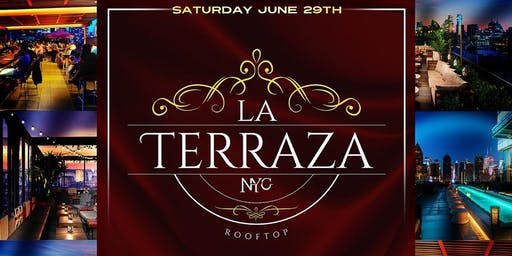 ROOFTOP PARTY SATURDAY NIGHT at LA TERRAZA | LADIES  NIGHT FREE ADMISSION |