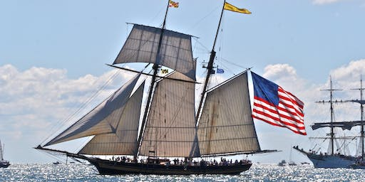 PARADE OF SAIL Aboard Pride of Baltimore II, Buffalo Tall Ships July 4