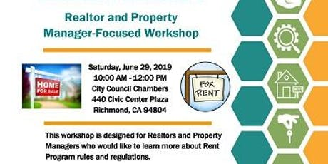 2019 Richmond Rent Program Community Workshops tickets
