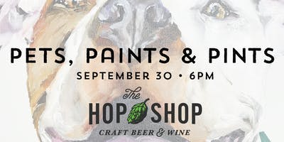Pets, Paints & Pints at The Hop Shop