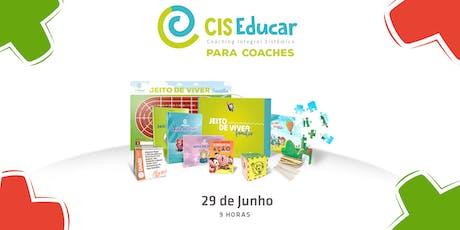 [Natal/RN] Cis Educar para Coaches ingressos
