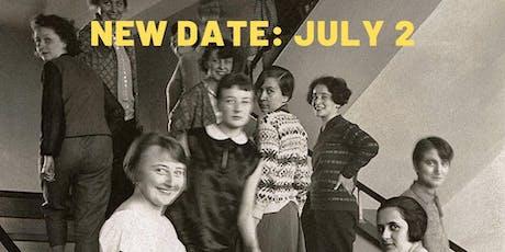"""NEW DATE: Talk """"Women of the Bauhaus"""" @ Peter Miller tickets"""