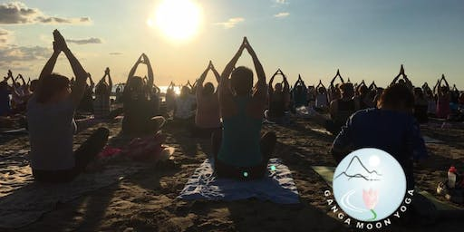 Summer Solstice Yoga on the Beach