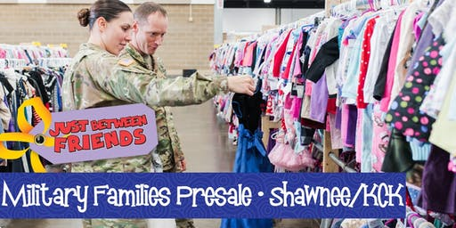 Military Presale (FREE) | Just Between Friends Shawnee/KC Fall 2019 Sale