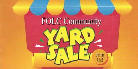 Fellowship of Love Church Community Yard Sale tickets