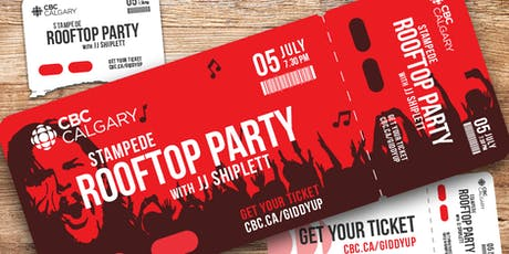 Kick off Stampede at CBC Calgary's rooftop party tickets