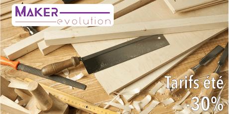 Makerevolution Cours bois I (débutant) billets