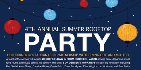 4th Annual: 2019 Summer Rooftop Party & Charity Fundraiser - Aug 27 & 28 tickets