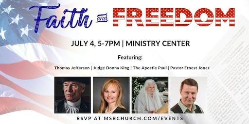 A Celebration of Faith & Freedom