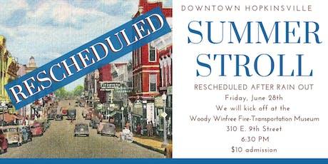 Rescheduled Summer Stroll Downtown Walking Tour tickets