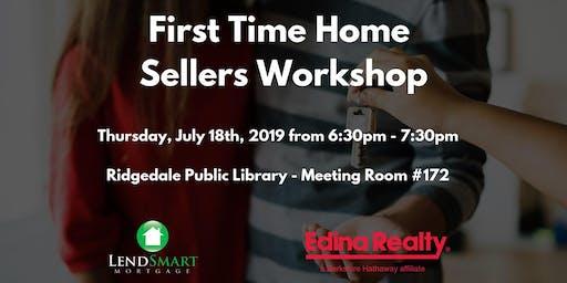First Time Home Seller Workshop
