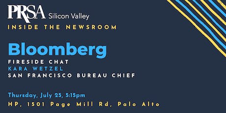 Inside the Newsroom: Fireside Chat with Bloomberg's Kara Wetzel tickets