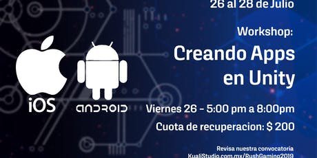 Creando Apps en Unity boletos