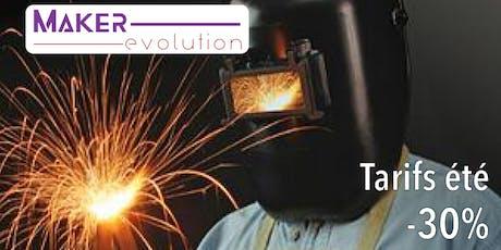 MakerEvolution Cours soudure I (débutant) billets