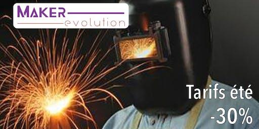 MakerEvolution Cours soudure I (débutant)