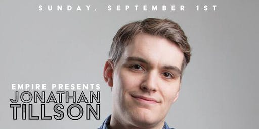 Jonathan Tillson | Sunday Night Comedy @ Empire Live Music & Events