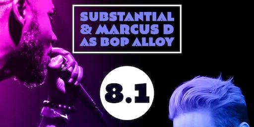 Substantial & Marcus D as Bop Alloy live w/ Apollo Bebop & nitsua