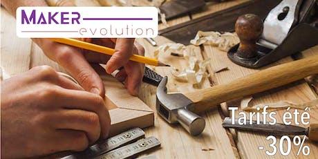 Makerevolution COURS BOIS II (avancé) billets