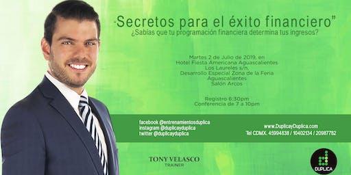 """Conferencia """"Secretos para el Éxito Financiero"""""""