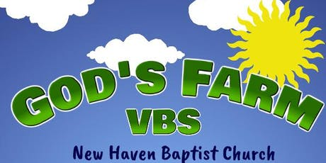 God's Farm- Vacation Bible School tickets