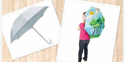 (ELGIN) DIY Umbrella Family Paint It! Class-6/6/19 12-1pm