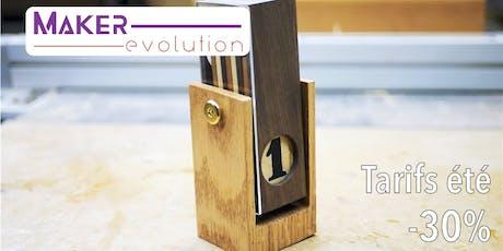 Makerevolution workshop calendrier perpétuel billets