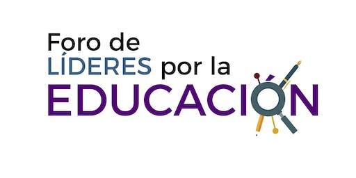 Foro de Líderes por la Educación