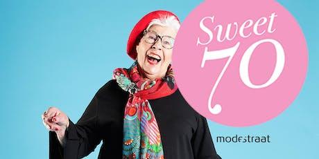Lancering glossy Sweet 70 en meer... tickets