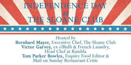 4th July at The Sloane Club tickets