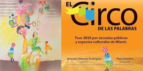 El Circo de las Palabras (by Cuatrogatos) tickets