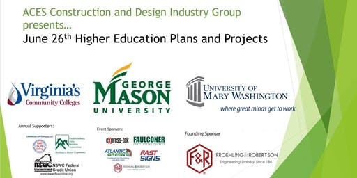 ACES: Higher Education Plans and Projects with UMW, VCCS, and GMU