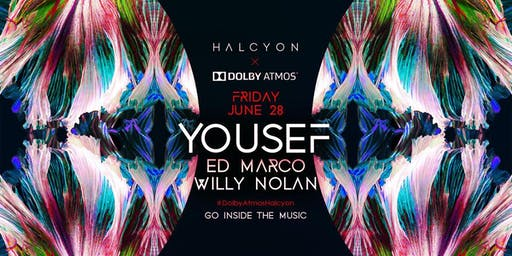 Yousef at Halcyon Free Guestlist - 6/28/2019